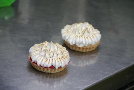 tartelette meringue italienne par mon idylle glacee