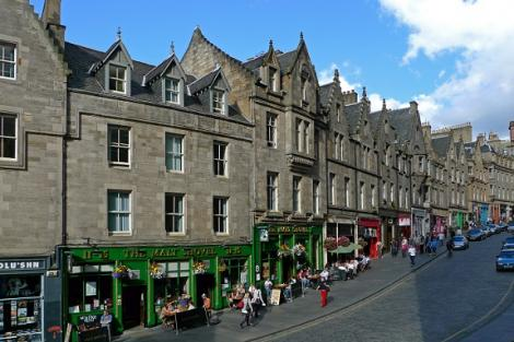 Edinburgh cockburn street 2