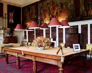 Glamis castle  salle