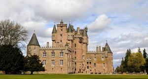 Glamis castle  de la Reine Mère